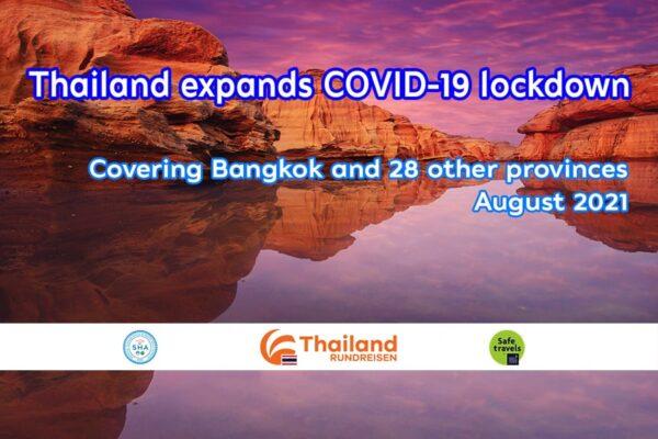Thailand verlaengert COVID 19 Beschraenkungen bis ende August