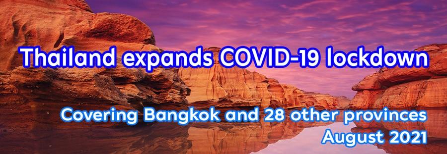 Thailand verlaengert Lockdown bis Ende August
