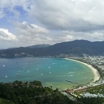 Blick über Patong auf Phuket vom Patong Aussichtspunkt