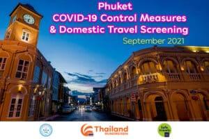 Die Altstadt von Phuket auch Phuket Old Town genannt in der Abenddaemmerung