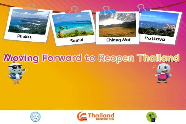 phase 2 der thailändischen Wiedereröffnungsstrategie startet im Oktober