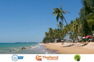 Phang-Nga-Prompt begruesst internationale Reisende in der Amazing-Khao-Lak-Ko-Yao-Sandbox