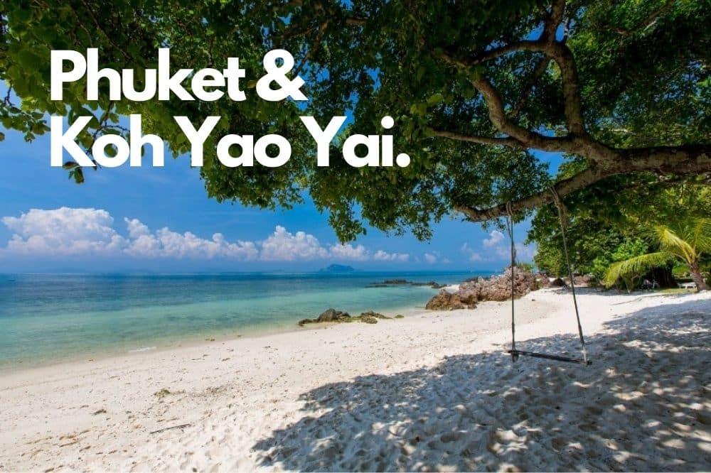 Phuket Sandbox Reise und Koh Yao Yai, Thailand neu entdecken