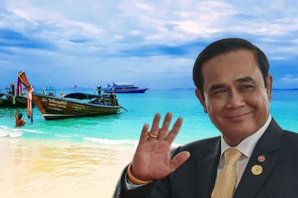 Premierminister Prayut stellt seine großen Pläne für Phuket vor.