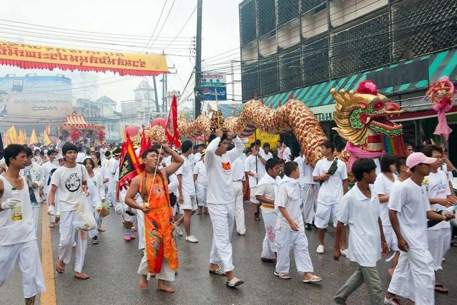 Drachen Schlange, Phuket Vegetarian Festival 2021
